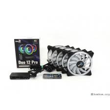 Комплект 5 вентиляторов с RGB подсветкой Duo 12 Pro
